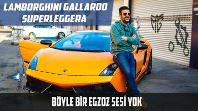 Photo of Böyle Bir Egzoz Sesi Yok | Lamborghini Gallardo Superleggera