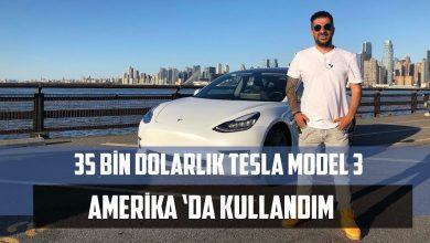 Photo of 35 Bin Dolarlık Tesla Model 3 | Türkiye'deki İlk Test