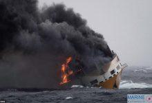 Photo of Yaklaşık 2.000 otomobil taşıyan kargo gemisi battı