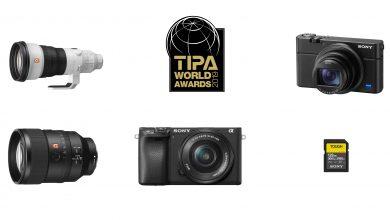 Photo of Sony, 2019 TIPA ödüllerinde beş ürününü kutladı