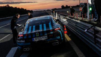 Photo of Porsche Taycan, 24 saatte 3.425 kilometre yol kat etti