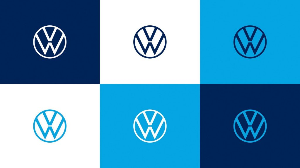 Volkswagen'in yeni logosu