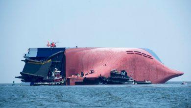 Photo of Binlerce otomobil taşıyan Golden Ray gemisi alabora oldu