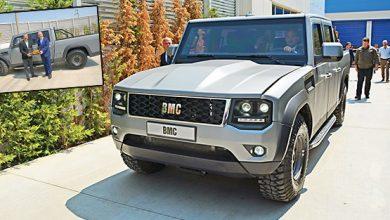 Photo of BMC, yeni pickup modelini görücüye çıkarttı