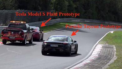 Photo of Taycan, Nürburgringte Model S'in karizmasını çizdi