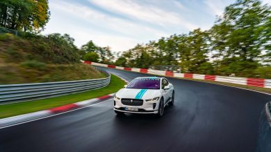Photo of Nürburgring'in ilk elektrikli süper taksisi, Jaguar I-Pace