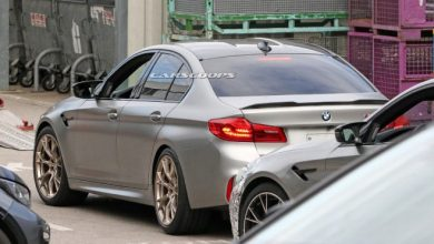 Photo of BMW M5 CS kameralara yakalandı