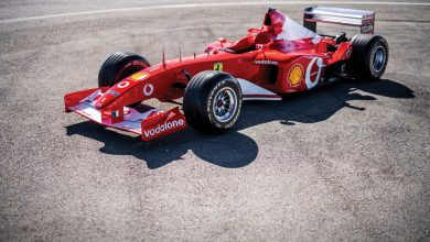 Photo of Schumacher'in Ferrari F2002'si 6.6 milyon dolara satıldı