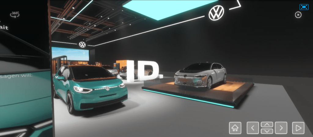 Volkswagen sanal cenevre otomobil fuarı